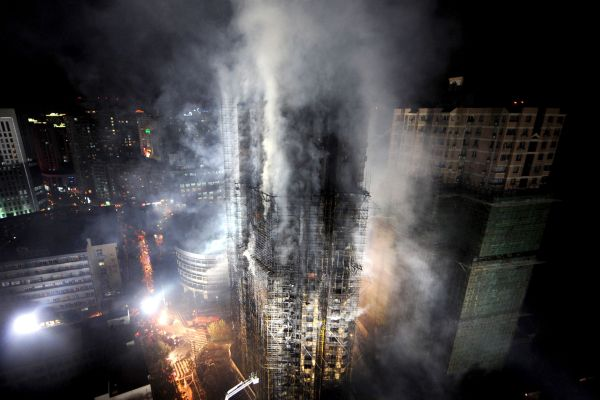 Chinese fire fighting Sky Scrapper