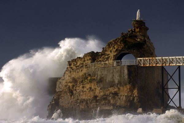 French Coast of Biarritz