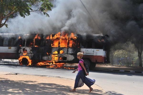 India Hyderabad Riots