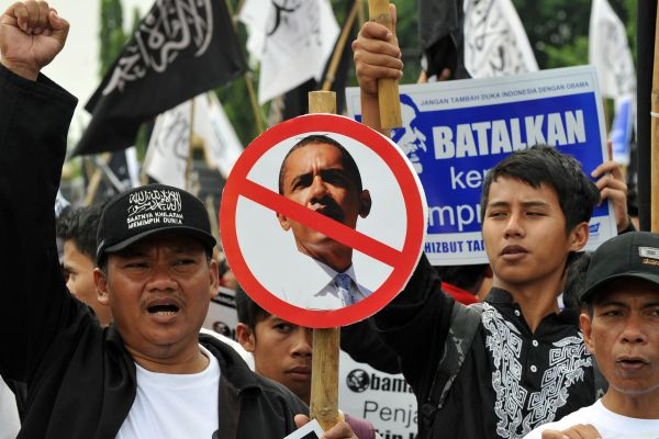 Indonesian Protesters