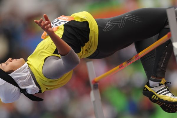 Iran 's Sepideh High Jump in Asian Games
