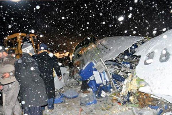 Iran's Plane Crash Orumiyeh