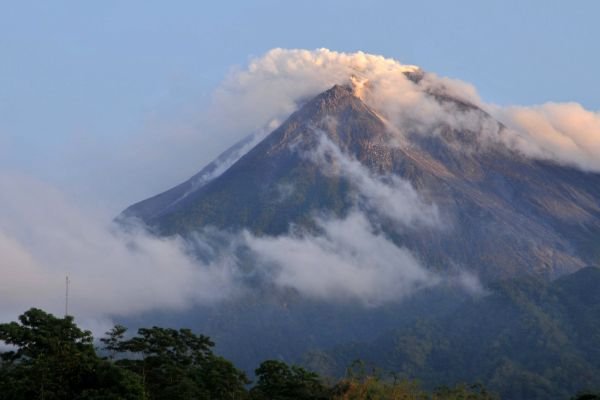 Mount Merapi Volcano Indonesia