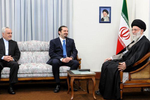 Saad Hariri & Khamenei