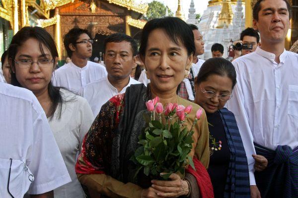 San Suu Kyi Mynamar