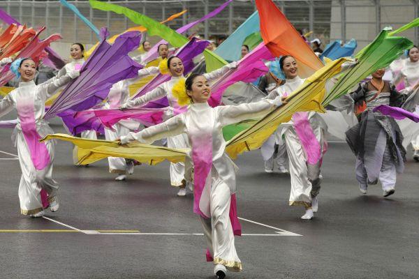 South Korean traditional Dancers