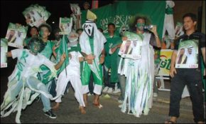 Saudi Halloween Party