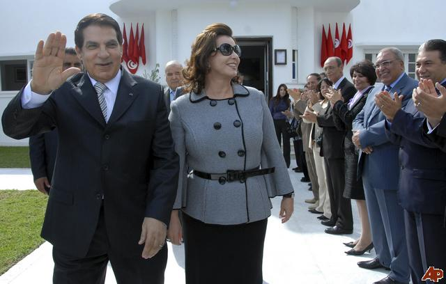 JNN 16 Jan 2011 : The family of ousted Tunisian President Zine El Abidin Ben