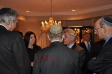 Bahraini Jew Ambassador Yahoda Ezra Nonoo with Rabbi Levi Shemtov