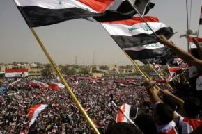 Iraq Protest US over stay