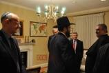 ShiekhBahraini Foreign Minister Shaikh Khalid bin Ahmed Al Khalifa with Rabbi Levi Shemtov 2