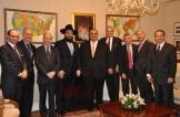 ShiekhBahraini Foreign Minister Shaikh Khalid bin Ahmed Al Khalifa with Rabbi Levi Shemtov 3