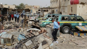 Iraq Hilla Car Bomb Blast