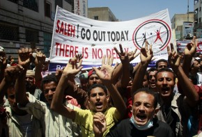 Yemen Protest after Saleh back out of deal