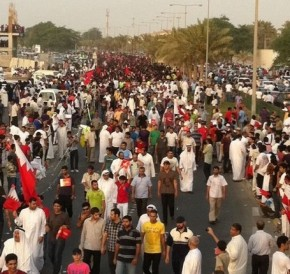 Bahrain Protesters wants freedom