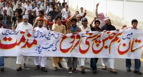 Rally against Gays and Lesbian Karachi