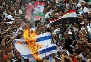 Anti Israel Protest in Egypt