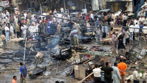 Twin Car Bomb Blast in Karbala
