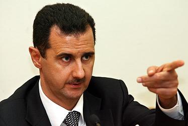 Syrian President Bashar Al Asad