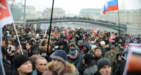 Russian Anti Putin Rally