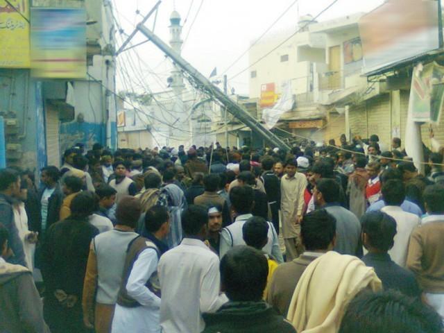 Chelum , Blast in Khanpur Pakistan