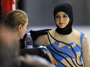 Zehra Lari , Ice Princess In Hijab