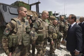 Francois-Hollande orders French-troops withdrawl from Afghanistan