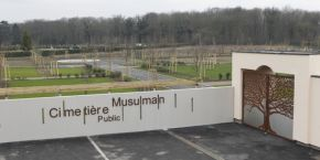 Muslim Cemetery in Strasbourg , Germany