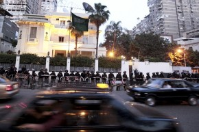 Saudi Embassy in Egypt Closed after Protest against Ale Saud