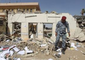 Shia Religious office attacked By a suicide Bomber in Iraq 05.06.12