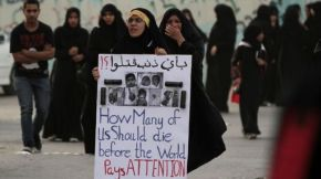 Bahraini Shia Protest amid Crackdown