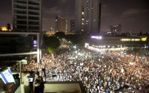 Thousands of Israeli Jews Protest against the Zionist Capitalist Policies 2012