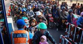Indonesian Mass Migration on Eid Ul Fitr