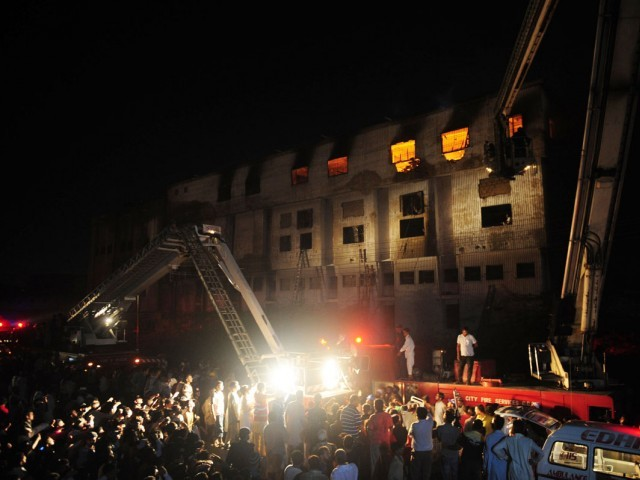 258 Dead in Karachi Garment factory fire | Jafria News