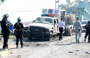 Iraq Bomb Blast on Shia NeighborHood a