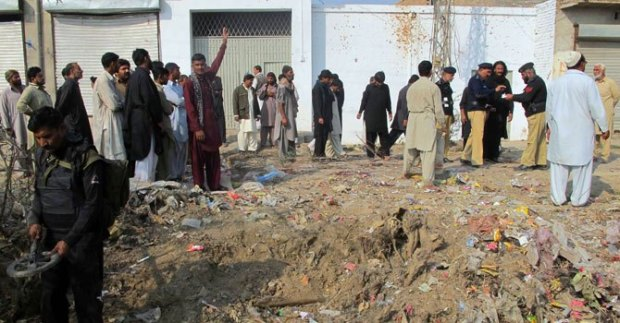9th Muharram Procession Attacked By Bomb Blast in D.I.Khan , Leaving 8