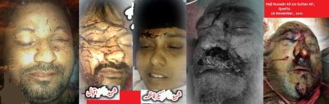 Shaheed Ali Haider , Hassan Iqbal, Kaneez Fatima , Haji Hussain Ali , Hassan Mohsin 29 Nov ,2012