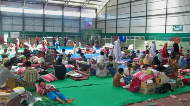 Indonesian Shias in Refugee Camp