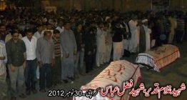 Shaheed Ghulam Qadeer , Fazal Abbas 30 Nov 2012 , Karachi