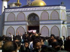Shaheed Nazar Abbas Funeral B