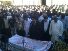 Shaheed Nazar Abbas Funeral e