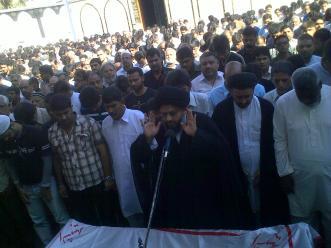 Shaheed Nazar Abbas Funeral f