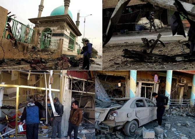 Bomb Attack on Shiite Pilgrims in Iraq Jan 2013