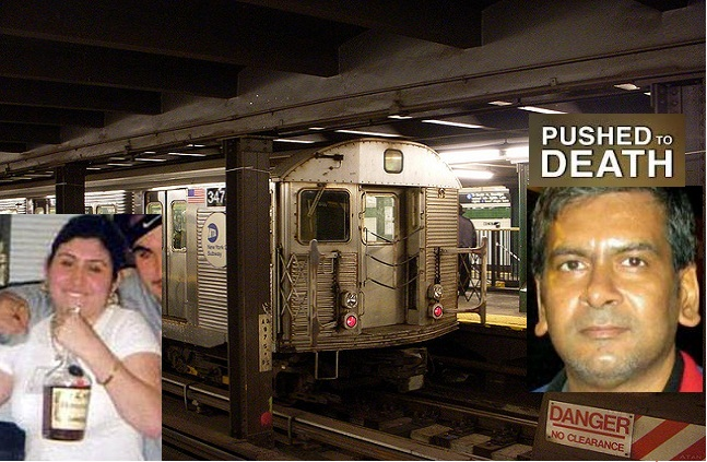 Hate Crime in NY Subway
