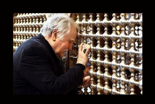 Imam Hussain Shrine New Zarih Installation h