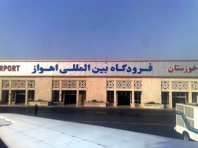 Iran's Ahvaz Airport Oil Field