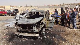 Iraq Bomb Blast before Arbaeen
