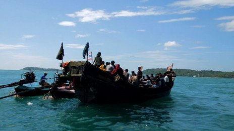 Rohingya Muslims Flee to Thailand