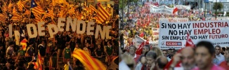 Spain Unemployment 26% Catalonia Independent