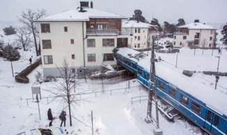 Stolen Train Crashed into a Home